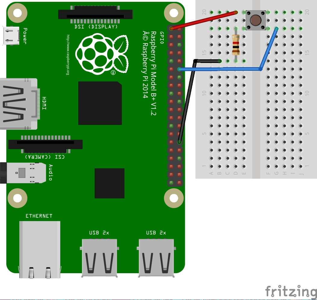 How To Log Data By Pressing A Button On Raspberry Pi Using Ifttt Circuit Connected We Can Go Ahead And Add Some Code For Our Fred Maker Wiring