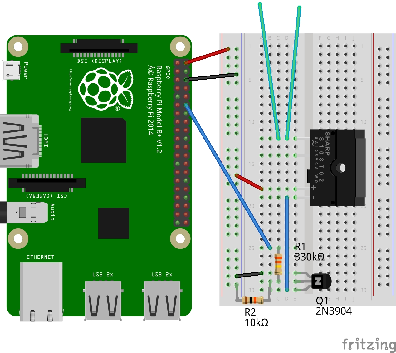 How To Control Almost Anything With A Raspberry Pi 2 And Node Red Wiringpi Pwm Functions Nodered Wotkit Wiring