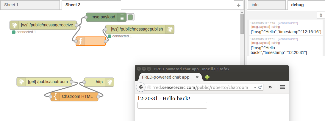 How to Build a Great Chat Application With Node-RED and